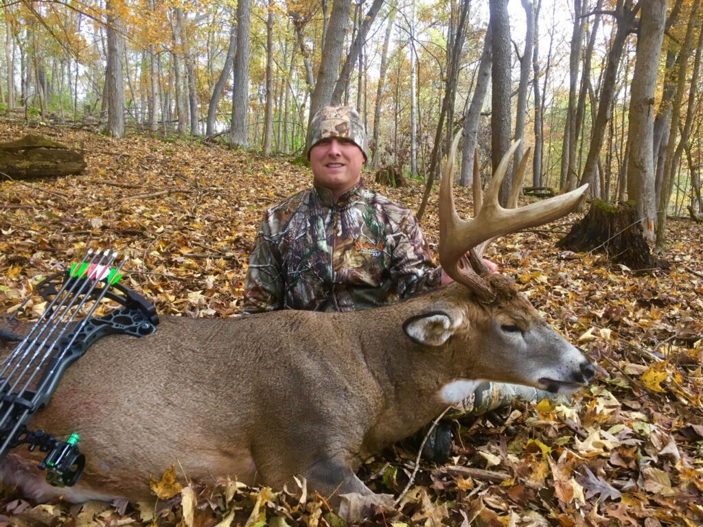 Jack in Wisconsin with his new Mathews Triax